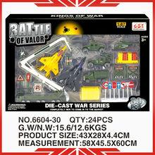 ระดับ1: 87diecastรุ่นรถของเล่นทหารของเล่นรถหุ้มเกราะ6604-30