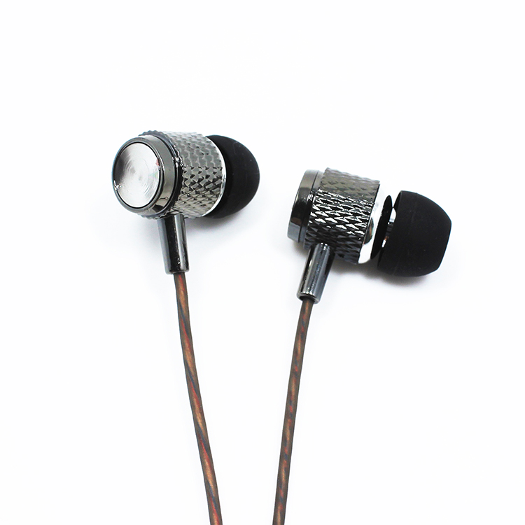 2016 OEM factory necklace handsfree in ear dual drivers earphone