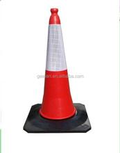 Cheap Price 100cm Plastic Used Traffic Cones