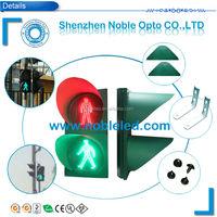 Pedestrian solar traffic signal lamp