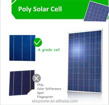 High efficiency poly solar panel 150 watt solar power for home use