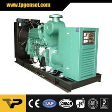 Open type diesel generator TP550C 400kw/500kva 50Hz powered by Cummins engine