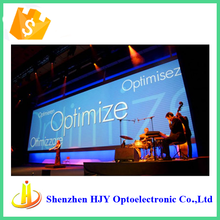 high quality P6 indoor festivals and events led video screen