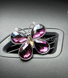 Hot sale butterfly Automobile aroma car air fragrance Car Air Freshener lowest price in stock