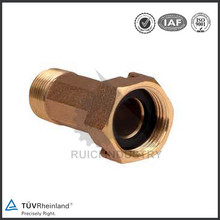 High pressure forged galvanized water meter pipe fitting