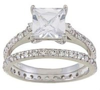 Top grade new coming aa cubic zirconia engagement ring