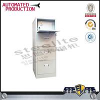 knock down 4 drawer godrej steel filing cabinet/ filing cabinet with digital locks