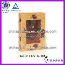 China Supplier Vintage Book Box Presentation Storage