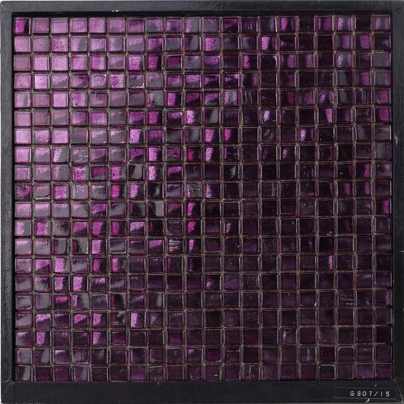 glass mosaic wall tile purple backsplash tile purple glass mosaic tile