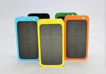 4000mAh Solar Panel Power Bank External USB Battery Charger for iphone 4,5,6 ipad