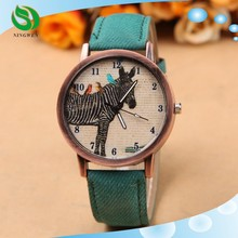 Zebra Imitation Jean Restoring Ancient Ways Men And Women Accurate Watch China Wholesale Watch