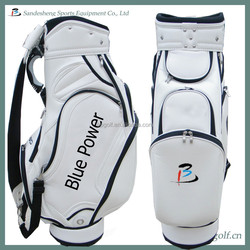 men and women pu custom golf bags genuine leather