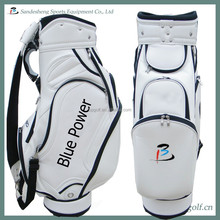 men and women pu custom golf bags genuine leather