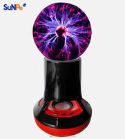 Factory New Magic Plasma Ball Wireless Bluetooth Speaker with Volume Control