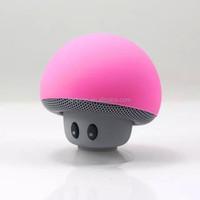 Mushroom Mini Bluetooth Speaker with Sucking Disc Hot Selling Bluetooth Speaker Mushroom Design