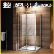 2015 New Design Shower Enclosure with Pivot and Folding Door