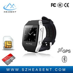 Factory product DZ10 low cost watch mobile phone wrist watch With GPS tracker for kids and old people