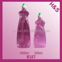 1000ml 500ml plastic liquid detergent bottle,dishwashing bottles,laundry detergent bottle