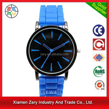 R0719 new fashion geneva watch quartz watch blue water resistant