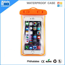 Noctilucent mobile phone waterproof pouch for iphone 6 case