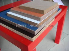 Colorful melamine boards for furniture or decoration