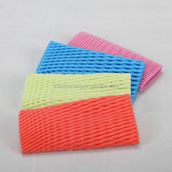 colorful foam sleeve fruit net
