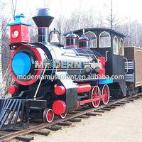 Modern Amusement track tourist train for sale