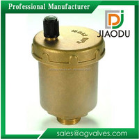 3/8 or 1/2 bsp male threaded brass automatic safety valve with natural color for water ail and gas made in yuhuan