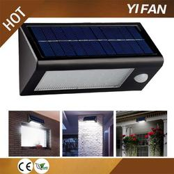 turn automatically decor garden solar light for fence post with great price
