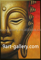 wholesale handmade Buddha oil Painting On Canvas for Decor from China