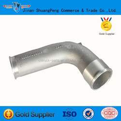 Howo engine spare parts stainless steel pipe elbow