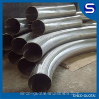 curved stainless steel pipe price/manufactor