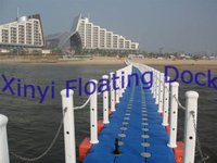 floating and pontoon walkway