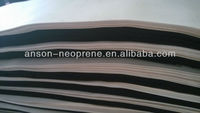 foam neoprene rubber slices(SBR), neoprene fabric material, cushion pad material