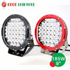 185w car led lights, 9 inch round led driving lights for car motorcycle