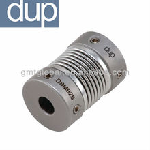 dup DSMB Stainless steel Mechanical Bellows Type Flexible Encoder Coupling