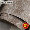 Lanca best thick modern deep embossed pvc corner protection for wallpaper