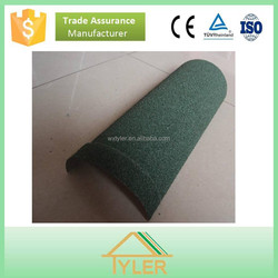 roof accessory stone coated metal circular hip