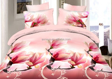Microfiber Brushed Bed Sheets 3D Bedding Set with Duvet Cover and Pillow Case