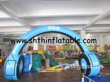 2015 new custom made inflatable entrance arch