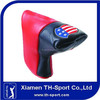 US Flag PU Material OEM brand Golf Putter Head cover