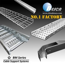 Direct Sales Factory Specializing in Cable Tray Ladder Trunking Wire Mesh Wireway Channel Cable Support System(UL,cUL,CE,IEC)