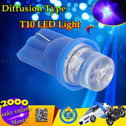 Best Price Diffusion Type T10 LED Light Auto Car Blue