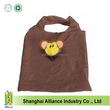 Monkey Animal Style Promotional Foldable Market Shopper Bag