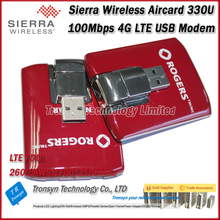 Original Unlock Sierra Wireless Aircard 330U 100Mbps USB 4G Modem Support North And South America Mobile Network