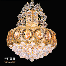 Hot selling 100% K9 Crystal for Art Gallery Classic Crystal Pendant Lamp