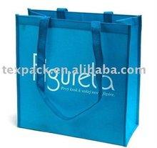 Customized reusable PP non woven bag with zipper, non woven fabric shopping bags