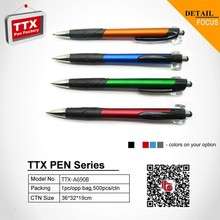 Cheap promotional promotion ballpoint pen,promotional square plastic ballpoint pen