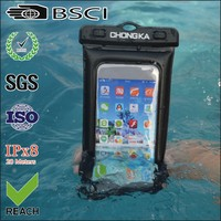 casual swimming waterproof cover bag for htc