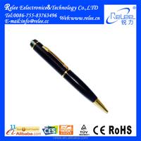 Hidden pen camera HD 720P mini pen drive voice recorder with sd card